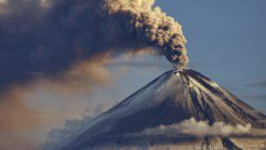 Пробуждающийся вулкан