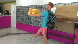 Отправлять коробку
