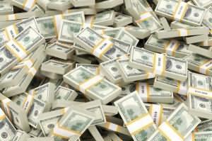 Много банкнот