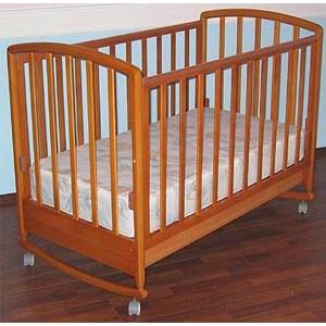 Кроватка без постели