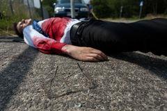 Раненый человек