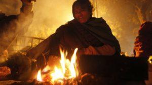 Загореться от костра