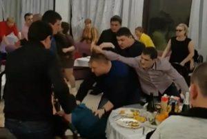Пьяный дебош