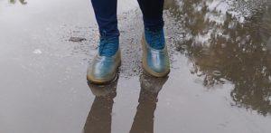 грязная обувь