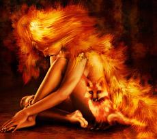 Сгорать в пламени