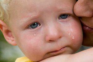 слезы малыша