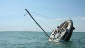 Корабль тонет