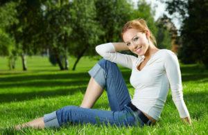 Отдыхать на траве