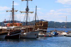 Корабли у причала