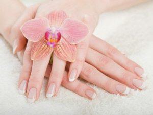 Красивые ухоженные пальцы