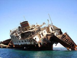 крушение судна