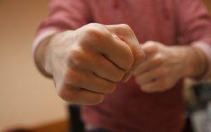 Сжатые пальцы