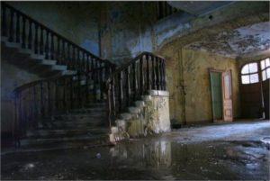 Пустое заброшенное жилище
